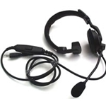 Otto Lightweight Single Speaker Radio Headset w/ Standard PTT