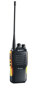HYT Handheld VHF Radio - Part #TC-610P-2TONE-V2